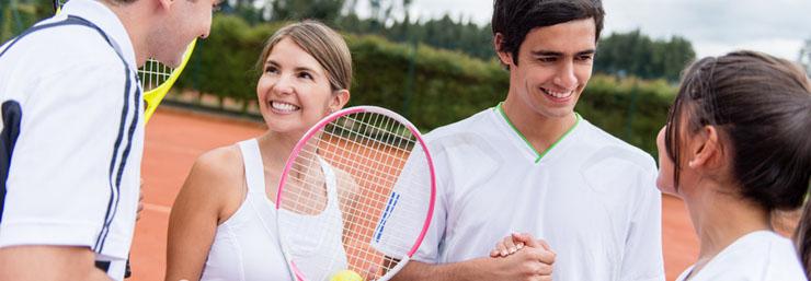 Ihr Tennisclub in Bonn: der TC Blau-Gold Bonn e.V. mit sechs Außenplätzen
