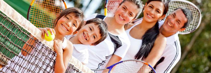 Tennis spielen für Anfänger und Fortgeschrittene - ein Club mit sehr guter Jugendarbeit